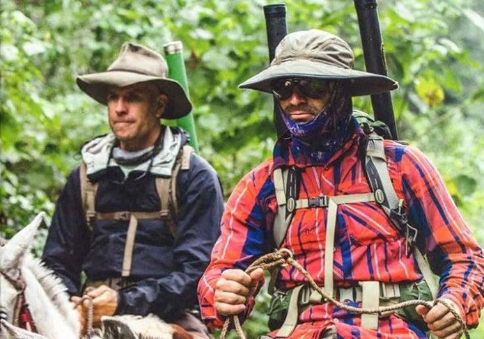 パタゴニアのハットを被った人たち