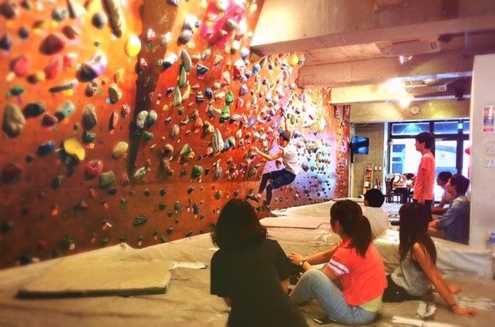 福岡ボルダリングジムで登ろう