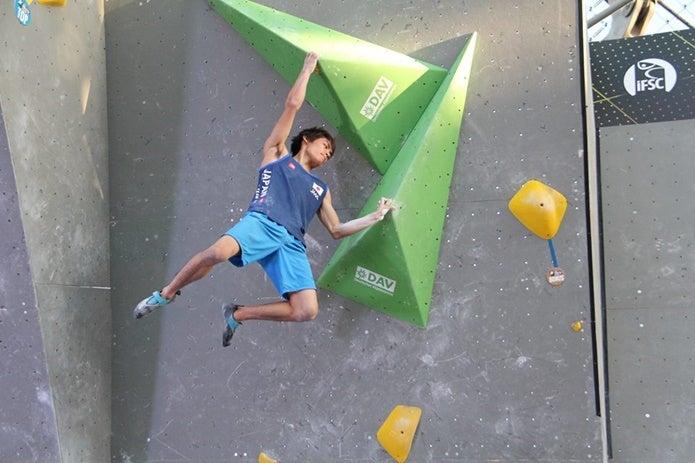 オリンピックも楢崎智亜選手に期待大!