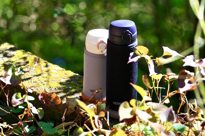 サーモスの500ml水筒が便利