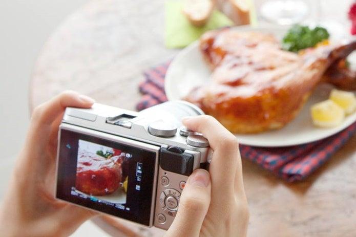 FUJIFILMのカメラでご飯を撮影