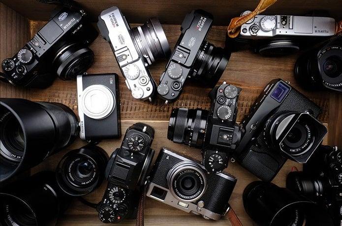 FUJIFILMのカメラ