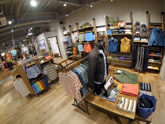 パタゴニア京都の店内