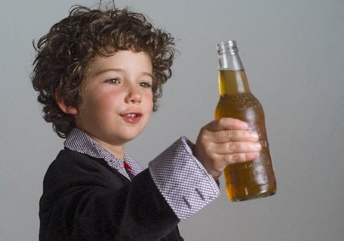 ノンアルコールビール子供はNG!