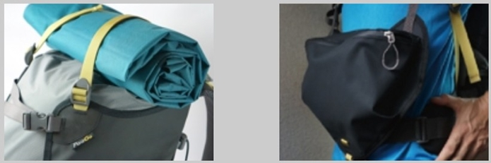 バッグとして使える天蓋