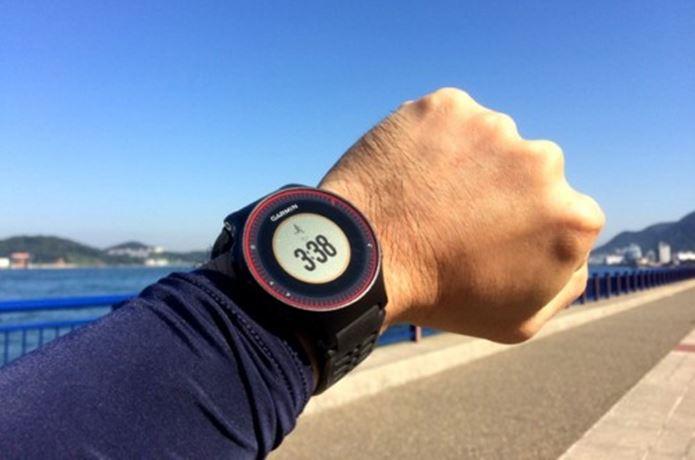 心拍計付き腕時計