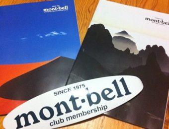 モンベルのカタログ