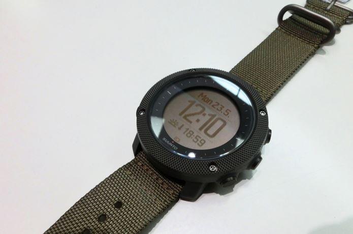 スントの心拍計付き腕時計
