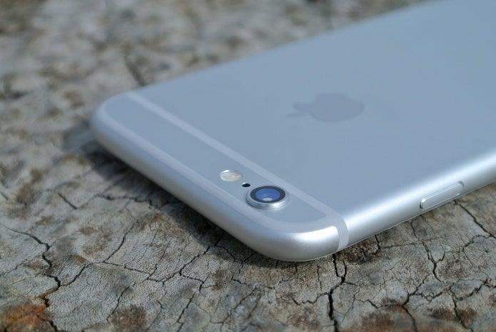 iphoneのカメラレンズ