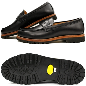 ビブラムソールを使った革靴