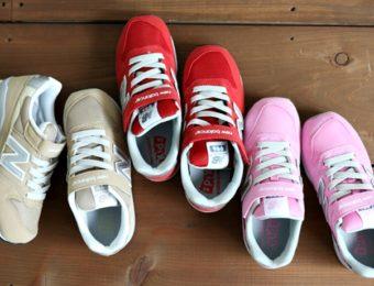 ニューバランスの子供靴