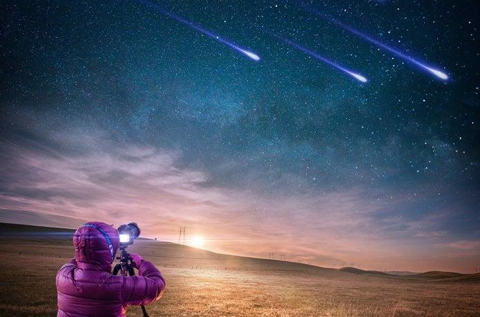 星景写真をきれいにとりたい