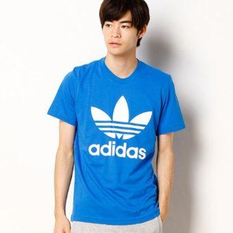 adidasのTシャツはストリートでも人気