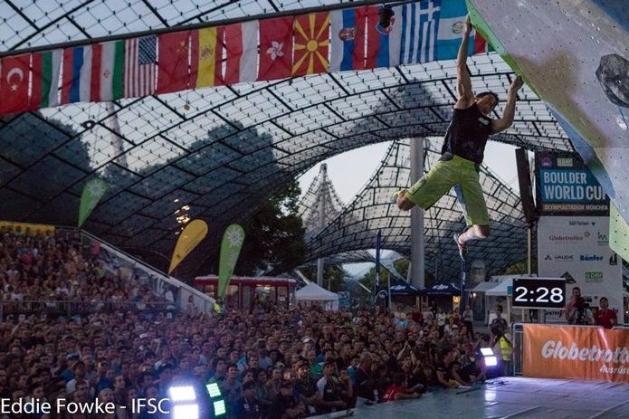 ボルダリングワールドカップが東京で開催!