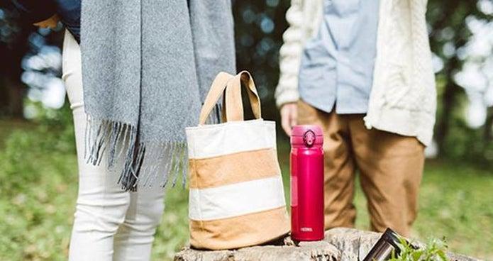 ランチバッグとサーモスの水筒