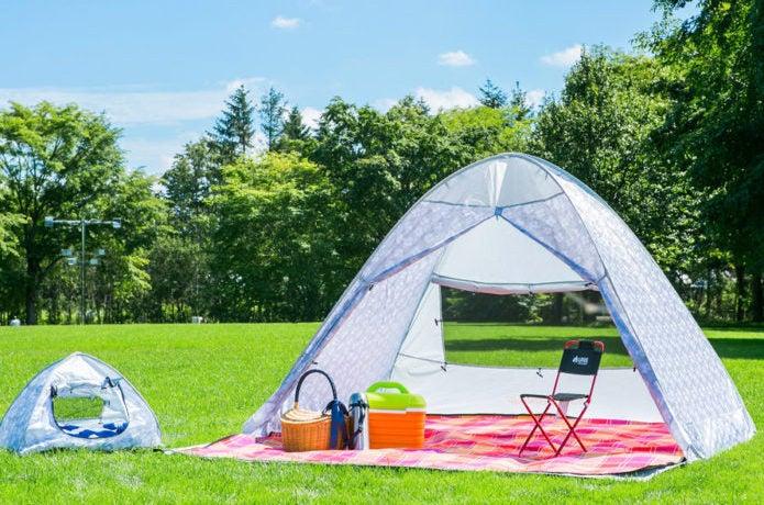 公園のサンシェードテント