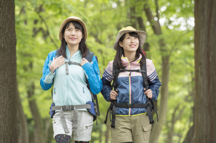 山ガールファッションを夏も楽しもう!