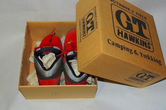 登山靴保管は箱に入れるのはNG!