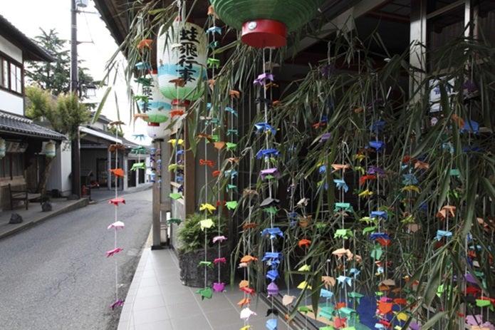 夏の吉野山のお祭り