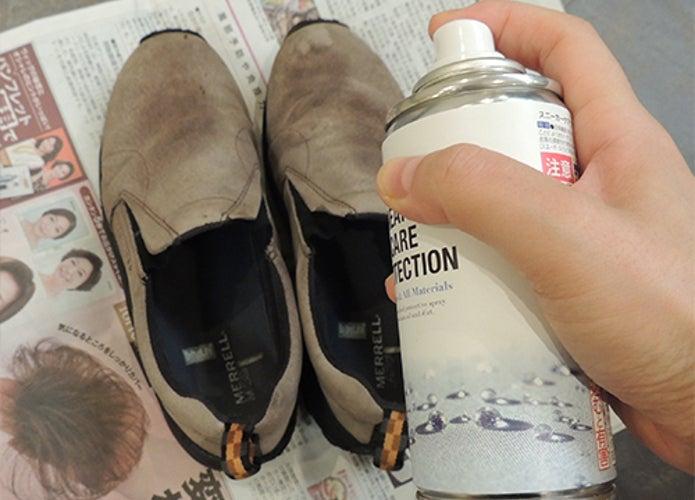 汚れた登山靴に防水スプレーはNG