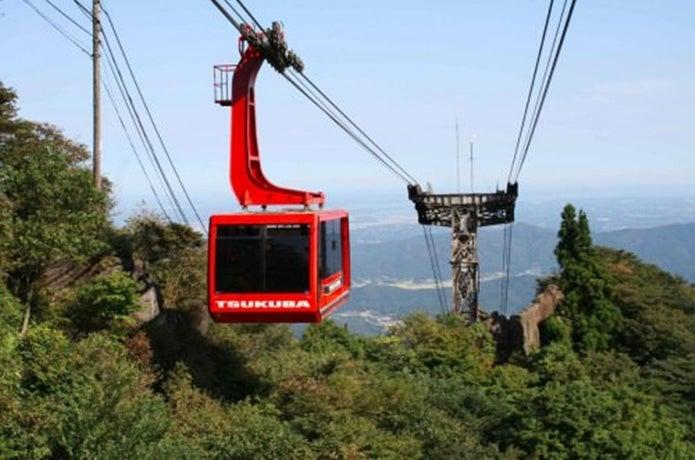 筑波山ロープウェイらくらく登頂コース