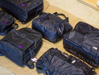 ノースフェイスのバッグの画像