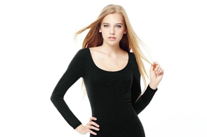 女子のブレスサーモ長袖
