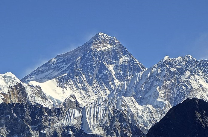 エベレストの写真