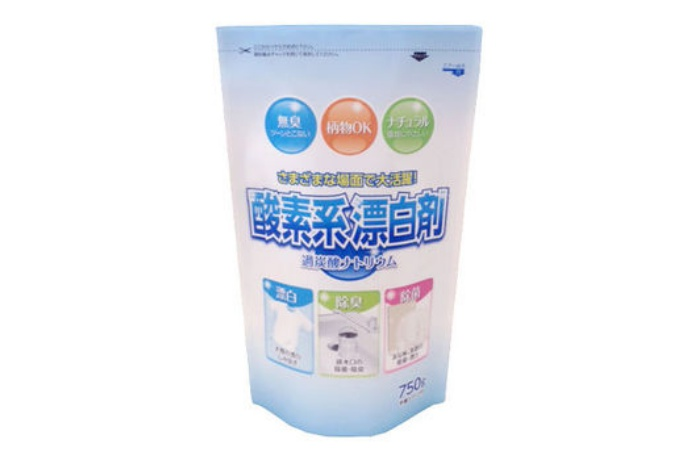 ステンレスボトルを洗うための酸素系漂白剤