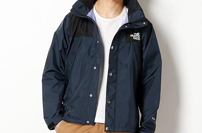 青いジャケット