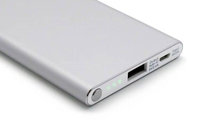 大容量モバイルバッテリーの画像
