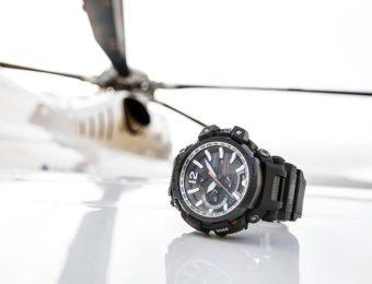 G-SHOCKの電波ソーラー腕時計