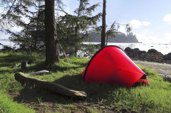ヒルバーグのイエローレーベルのテント