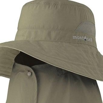 モンベルのUVカット帽子