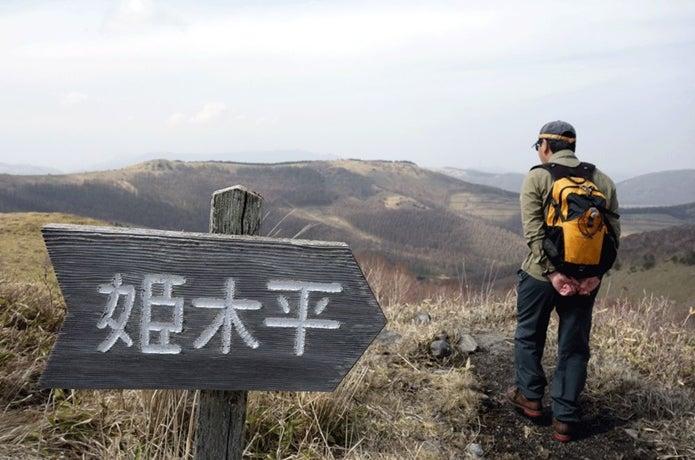 霧ヶ峰の姫木平登山の画像