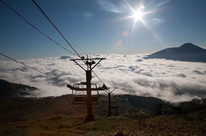 霧ヶ峰の車山高原リフト