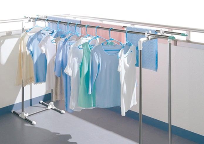 洗濯物が干されている画像