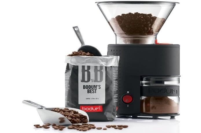 ボダムの電動コーヒーミル