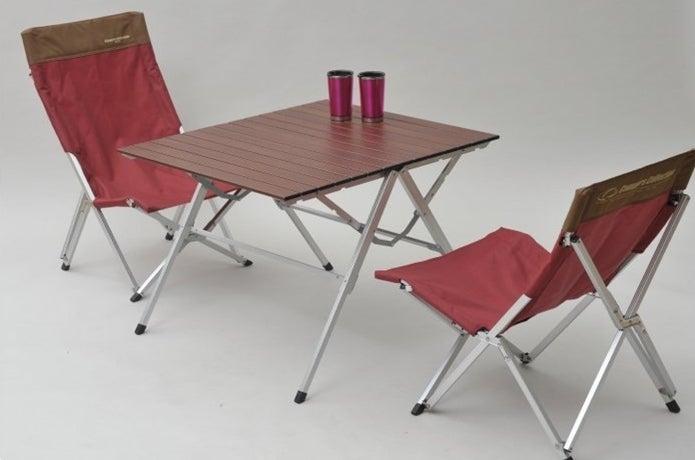 キャンパーズコレクションのワンタッチテーブル