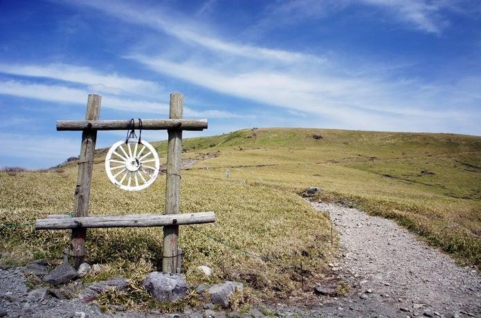 霧ヶ峰の登山道画像