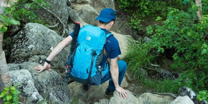カリマーのリッジは登山者に人気!