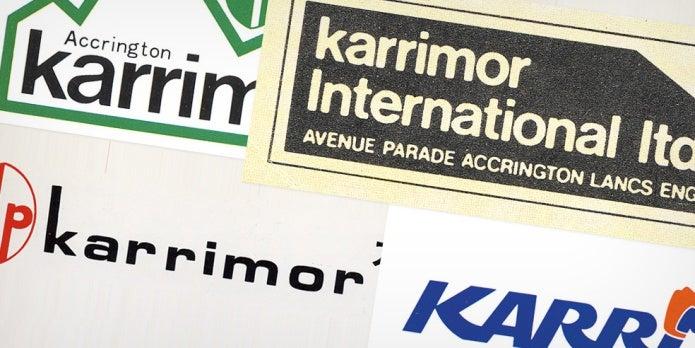 カリマーの歴代ロゴ