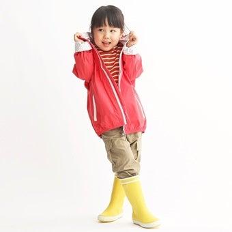 エーグルのレーンブーツを着た女の子の画像