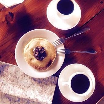 雲ノ平山荘のホットケーキ