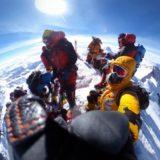 エベレスト山頂
