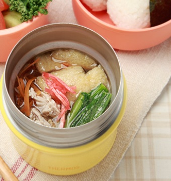 サーモススープジャーで作った豚汁画像