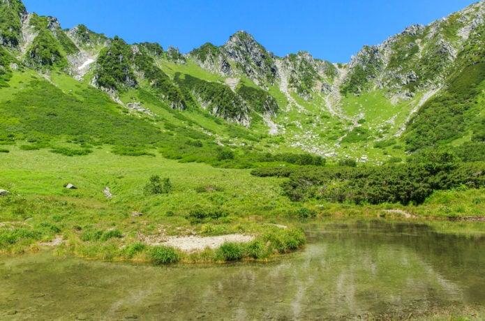 木曽駒ヶ岳の千畳敷カール