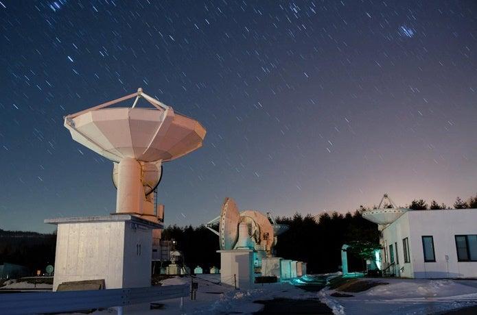 国立天文台野辺山の画像