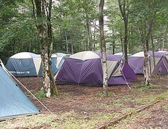 裾野市の十里木キャンプ場