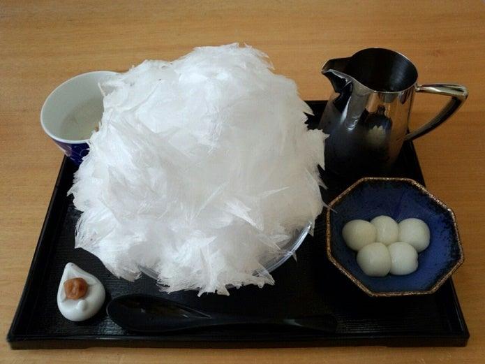 阿佐美冷蔵のかき氷画像